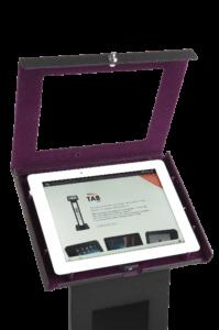 Czarny stojak na tablet Tabkiosk stand classic